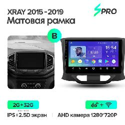 Штатная магнитола Teyes SPRO для LADA Xray 2015-2019 на Android 8.1 B 4G+WiFi 2Gb + 32Gb